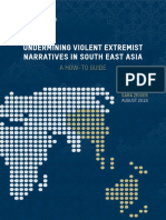 UNDERMINING VIOLENT EXTREMIST NARRATIVES IN SOUTH EAST ASIA A HOW-TO GUIDE