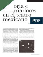 Historia e Historiadores en el teatro mexicano