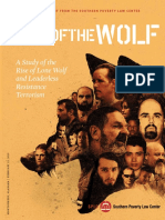 Lone Wolf Special Report A Study of the Rise of Lone Wolf and Leaderless Resistance Terrorism