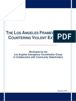 THE LOS ANGELES FRAMEWORK FOR COUNTERING VIOLENT EXTREMISM