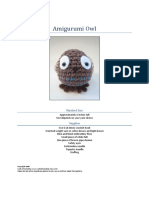Amigurumi Owl
