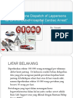 Mobile-Phone Dispatch of Laypersons for CPR In