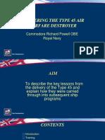 Powell the British Surface Fleet Slides
