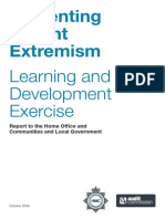 Preventing Violent Extremism Learning and Development Exercise Report to the Home Office and Communities and Local Government