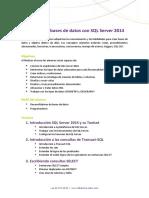 Sq l Server 2014