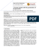 Stability Analysis Cyme