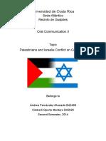 Gaza Conflict.doc
