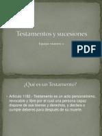 Testamentos y Sucesiones