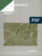 La Experiencia de Jesús, Jesús Espeja