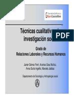 Javier Gomez Ferri_Tecnicas Cualitativas de Investigacion Social