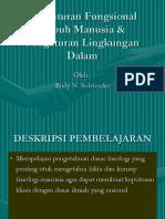Pengaturan Fungsional Tubuh Manusia & Pengaturan Lingkungan Dalam
