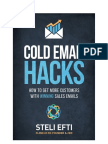 Cold Email Hacks 2.0