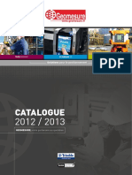 Catalogue Geomesure 2013
