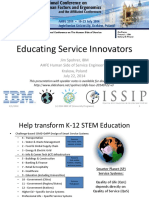 Educating Service Innovators