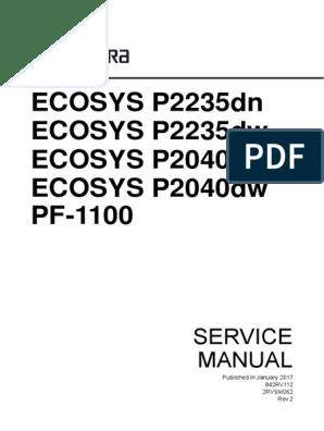ECOSYS_P2235dn_P2235dw_P2040dn_P2040dw_SM_v2 | Connectique | Équipement