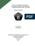 114952 ID Perancangan Dan Pembuatan Antena Rectang