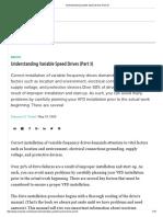 Understanding Variable Speed Drives (Part 3)