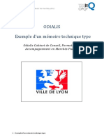 Exemple Memoire Technique Type