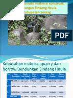 Presentasi Survey Batu Sindang Heula