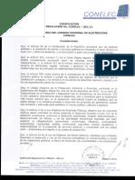 CONELEC (Consejo Nacional de Eléctricidad) - 2013 - Regulación No. CONELEC - 00113