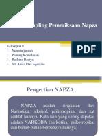 Teknik Sampling Pemeriksaan Napza