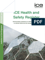 Ice 3931a Health and Safety Register Guidance Document