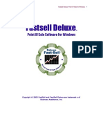 Fast Sell Deluxe Manual