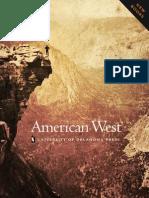American West Subject Area Catalog