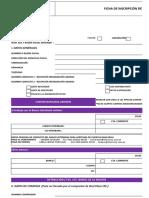 TES-F-01 Ficha de Inscripcion de Proveedores RV01