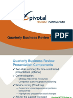 PPM QBR Template