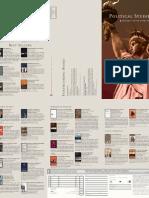 Political Studies Subject Area Catalog