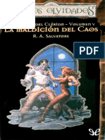 A Salvatore R - La maldicion del Caos.epub