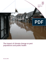 The Impact of Climate Change on Pest Populations and Public Health NOV 08