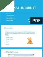 Aplikasi Internet