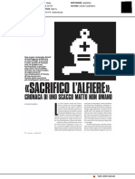 """""""Sacrifico l'Alfiere"""" cronaca di uno scacco matto non umano - Panorama, 1 febbraio 2018"""