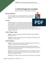 Eta Kappa Nu Constitution 2016-2017