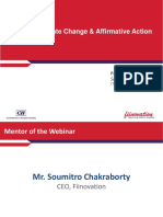 Webinar on Poverty,Climate Change & Affirmative Action