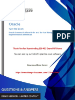 1z0-493 Oracle Communications Management Exam Dumps - Pass Exam In First Attempt