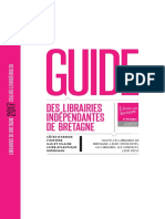 Guide des librairies indépendantes de Bretagne