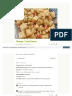 Cookpad Com Id Resep 4271863 Tempe Cabe Garam