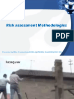 Hira Presentation Sasom Handouts Risk Assessment Methodologies