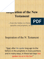 Inspiration of the New Testament - 3