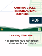 10 Accounting Cycle of a Merchandizing Business