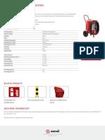 Wheeled AFFF Foam Extinguisher FT45 AFFF I 02.01.2018 Saval NL En