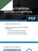 Métodos Estatísticos Aplicados a Engenharia