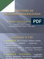 TCC No Transtorno de Ansiedade Generalizada Phillipe Machado IBH Julho2015
