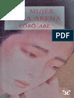 Abe Kobo - La mujer de la arena.epub
