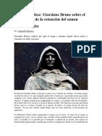 Magia erótica Giordano Bruno sobre el poder de la retención del Semen.pdf