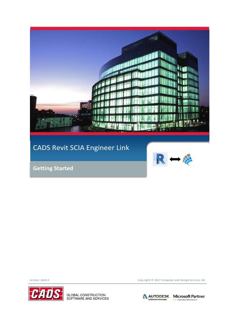 CADS Revit Scia Engineer Link Getting Started | Autodesk