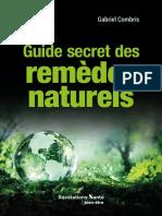 ++++ EBOOK - REVELATIONS SANTE - GUIDE SECRET DES REMEDES NATURELS